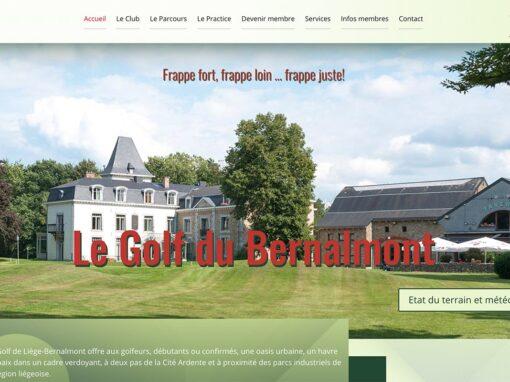 Bernalmont, le golf