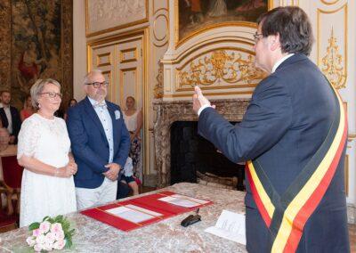 Mariage de Lucie et Benoît, l'hôtel de Ville