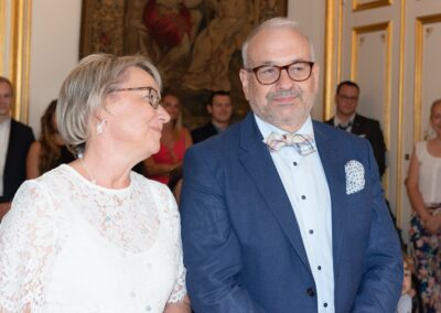 Mariage de Lucie et Benoît, tendresse