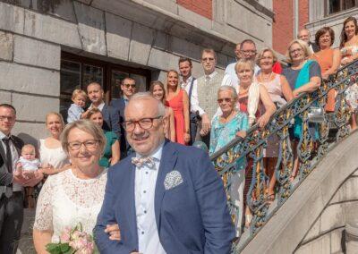 Mariage de Lucie et Benoît, groupe