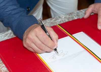 Mariage de Lucie et Benoît, signature