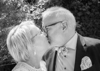 Mariage de Lucie et Benoit, le baiser